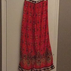 Flying tomato palazzo pants, size med